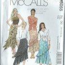 McCall's Pattern M5055 - UNCUT - Size DD (12-14-16-18) Misses' Skirt