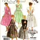 1986 McCall's Pattern 2874 - UNCUT - Size 12 - Misses Dress with 4 variations.
