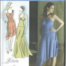 Simplicity Pattern 3825-UNCUT Size P5 (12,14,16,18,20) Misses' Knit Dress With Skirt