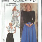 Simplicity Pattern 9446 - UNCUT - Size KK (8,10,12,14) - Misses'/Miss Petite Dress In Two Lengths