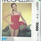 "McCall's ""90-Minute Fashion"" Pattern 7069 - UNCUT - Size 12 - Girl's Playsuit"