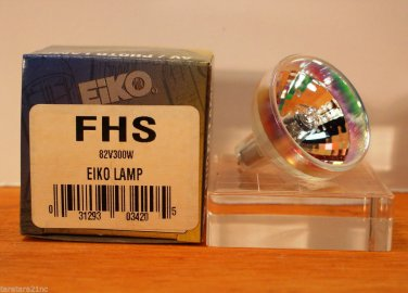 Qty 2 Eiko Projector Lamp FHS 82V 300 Watt 300w Bulb New in box Lot of 2 Lamps