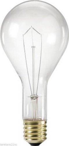 Qty 4 x 300 Watt PS35 Philips Mogul Base Light Bulbs  Clear Bulb 14314-9