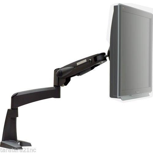 "Peerless LCT101 LCD Single Desktop Articulating Mount 25lb 30"" Monitor TV HDTV"