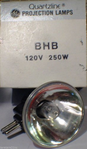GE General Electric BHB JCR  250 Watt 120 Volt AV Photo Projector Bulb / Lamp