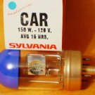 Qty 2 Sylvania CAR BEH DFF 150 W 120 V AV Photo Projector Bulb Lamp Lot of 2