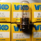 Qty 6 WIKO BAK  4 Volt .75 Amp  AV Photo Projector Bulb Lot of 6