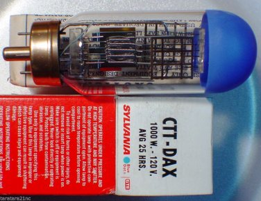 CTT DAX Sylvania 1000 Watt 120 Volt AV Photo Projector Bulb / Lamp Lot of 1