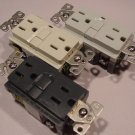 Lot of 3 Cooper Wiring Device GFCI Outlets Choice of Color 9566DS, SG, or WS