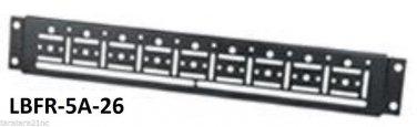 """1 Pr Mid Atlantic LBFR5A26 LBFR-5A-26 26"""" Server Rack Lacing Bars Cable Control"""