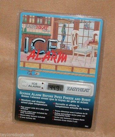 Ice Alarm Freeze Warning Easyheat Pipe  PA1 Temperature Sensor Monitor Easy Heat
