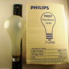 2 x Philips 200w E26 Medium Base Frosted Light Bulb A23 2865 Lumens  200a 362913
