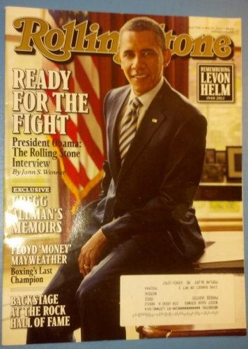 President Obama on the cover of Rolling Stone, Issue 1156, May 10,2012