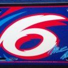 Mark Martin #6 - Novelty License Plate