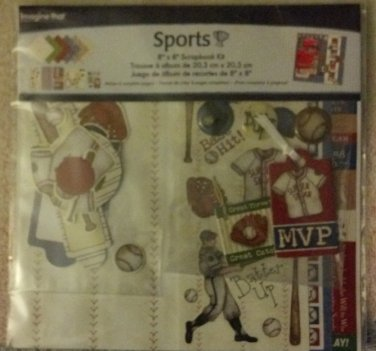 "Sports! 8"" x 8"" Scrapbook Kit"