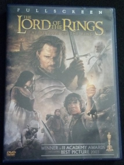 The Lord of the Rings: The Return of the King - FULLSCREEN DVD