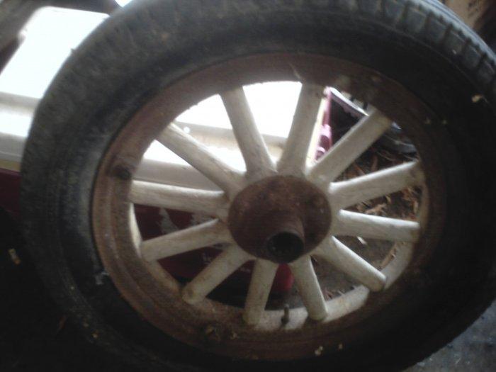 wooden rim tires