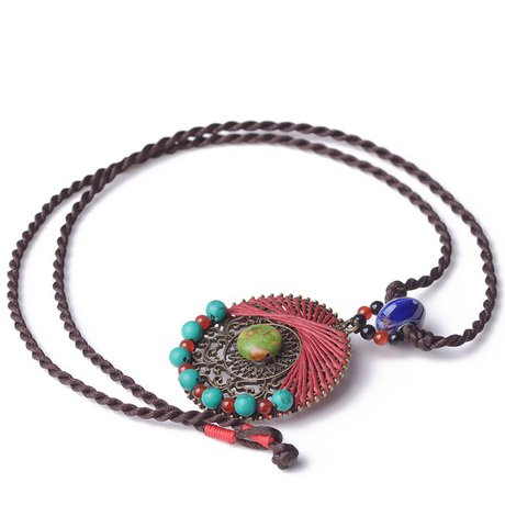 chinese national style revival necklace