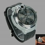 Novelty Watch Shaped Collectable Butane Cigarette Cigar Lighter