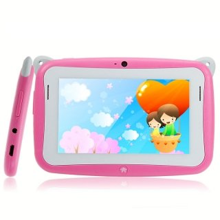 """R430C 4.3"""" Capacitive Touch Screen 4G Android 4.2 Children Kid Tablet PC Camera Pink"""