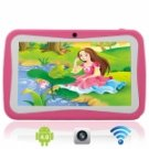 "7"" Capacitive Touch Screen A13 Android 4.0 4G Children Kid Tablet PC with Camera Pink"