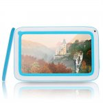 """7"""" Capacitive Touch A86-A13 Android 4.0 4GB Children Tablet PC with Camera WiFi Gray & Blue"""