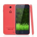 "5c 4.5"" Android4.0.3 OS MTK6572T Dual Core 1.3GHz RAM512MB Bar Smart Cellphone Red"