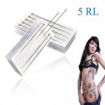 25pcs Professional Sterilized Round Liner Tattoo Needles 5R (contact for bulk orders)
