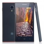 """M3 4.5"""" MTK6599M Dual Core 1.5GHz Quad Band Android 4.2.2 OS 4GB+1GB Smart Phone Black"""