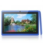 "Q8 7"" Capacitive Touch A23 Dual-Core Android 4.2 4GB Tablet PC Dual-Camera Blue"