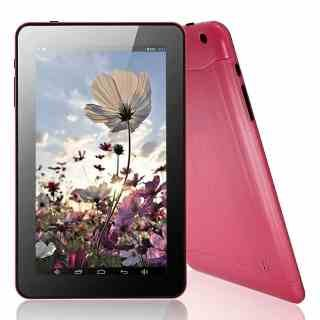 """9"""" A23 Dual Core 8GB Android 4.2 Tablet PC Bluetooth Dual Camera IM Pink"""