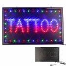 Flashing Neon Light Tattoo LED Sign