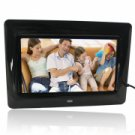 "7"" Super Thin Digital Photo Frame with 2GB Memory Card Black"