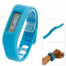 SH01 Stylish Smart Silicone Bracelet Watch Bluetooth Bracelet (Supports Android 4.3 below) Blue