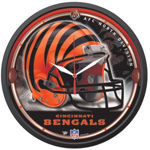 Cincinnati Bengals Wall Clock