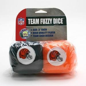 Cincinnati Bengals Car Fuzzy Dice