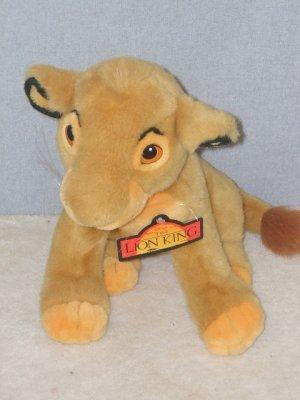 Lion King Simba Plush 13 Inch Stuffed Toy Animal Disney