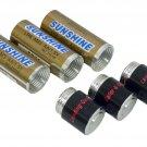 3 AA Battery Shape Pill Boxes Secret Stash Cases