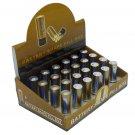 24 AA Battery Shape Pill Boxes Secret Stash Cases
