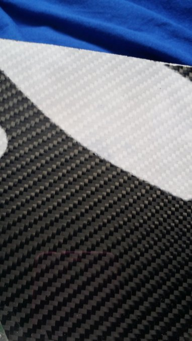 "Carbon Fiber Panel 6""x12""x1/32"""