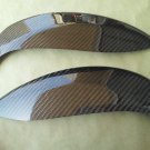 Carbon Fiber Eyelids Eyebrows Dodge Neon SRT4 03-05