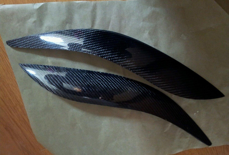 Carbon Fiber Eyelids Eyebrows Scion TC 2005-2010