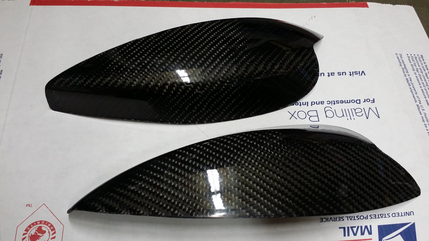 Carbon Fiber Eyelids Eyebrows Subaru WRX Sti 02-03