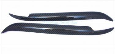 Carbon Fiber Eyelids Eyebrows BMW E39 5 series 97-03