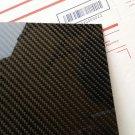"""Carbon Fiber Panel 6""""x36""""x1mm"""
