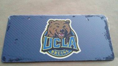 Carbon Fiber License Plate UCLA