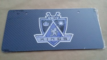 Carbon Fiber License Plate LA KINGS