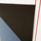 "Carbon Fiber Panel 6""x30""x1/8"" Both Sides Glossy"