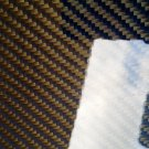 "Carbon Fiber Panel 12""x18""x3/32"" Both Sides Glossy blue"