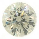 3.37 Carat Brilliant Round Cut Diamond Loose Gem Stone SI2-3 I-J